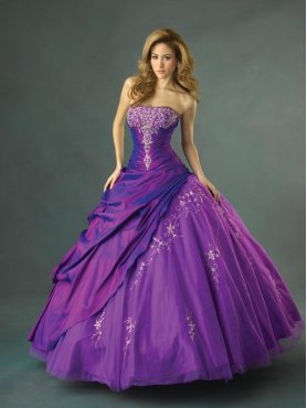 Discount Allure Quinceanera Dresses Style Q262