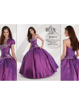 Discount Dulce Mia Quinceanera Dresses Style 81011