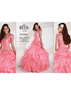 Discount Dulce Mia Quinceanera Dresses Style 81004