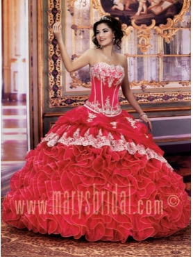 Discount Marys Quinceanera Dress Style F114Q716