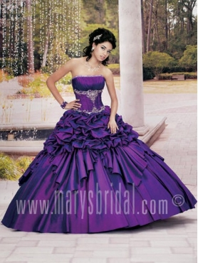 Discount Marys Quinceanera Dress Style F11 4064