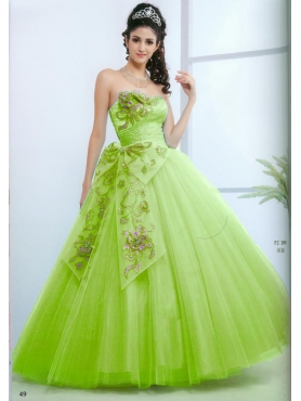 Discount Beautiful ball gown strapless floor-length quinceanera dresses 1623