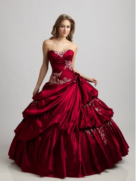 Discount Brand New ball gown  strapless  floor length quinceanera dresses  Q303