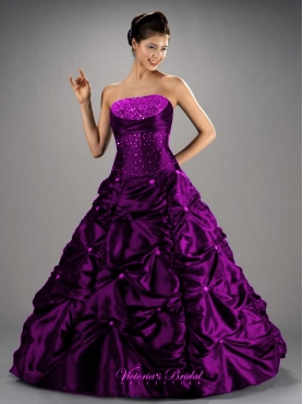 Discount Brand New ball gown strapless floor length quinceanera dresses  Style 80018