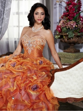 Discount Brand New ball gown sweetheart floor length quinceanera dresses mn Q488