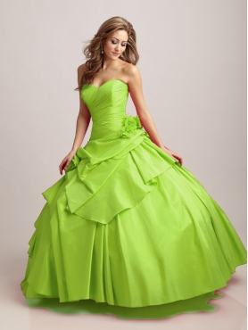 Discount Brand New ball gown sweetheart floor length quinceanera dresses mnQ489