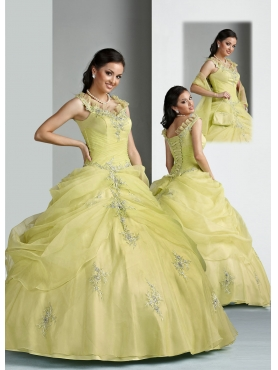 Discount Brand New ball gown v-neck  floor length quinceanera dresses  Style 80016
