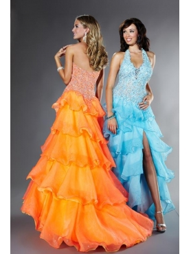 Discount Fascinating ball gown halter floor-length sleeveless Tiffany Presentation 16861