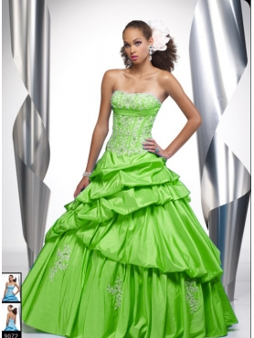 Discount Fascinating ball gown halter floor-length sleeveless Tiffany Presentation 16861 Quinceanera Dress