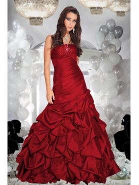 Discount Fascinating ball gown strapless floor-length Quinceanera dresses Style9225