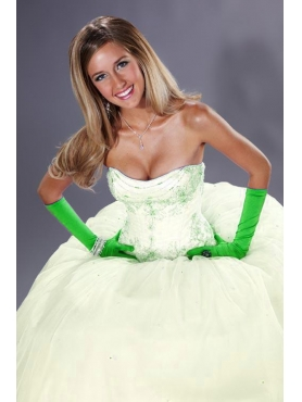 Discount Fascinating ball gown strapless floor-length sleeveless Tiffany Presentation 16852 Ballgown
