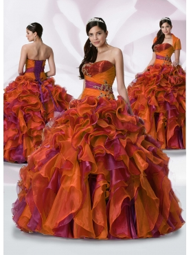 Discount Fascinating ball gown straplesss floor-length sleeveless formal prom dress Dulce Mia 911822