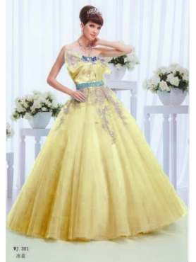 Discount Wonderful ball gown strapless floor-length quinceanera dresses 1634