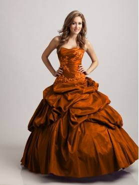 Discount Wonderful ball gown strapless floor-length quinceanera dresses STYLE 3150