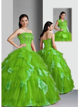 Discount Wonderful ball gown sweetheart-neck floor-length quinceanera dresses 1622