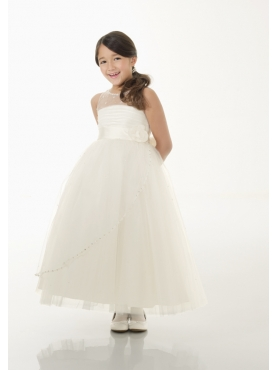 Discount Mori Lee Flower Girl Dresses Style 126