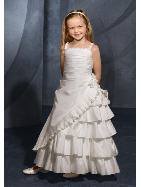 Discount Mori Lee Flower Girl Dresses Style 131