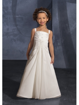 Discount Mori Lee Flower Girl Dresses Style 132