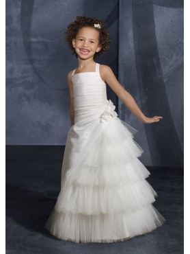 Discount Mori Lee Flower Girl Dresses Style 134