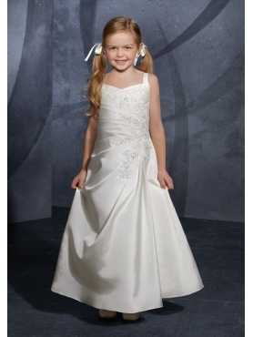 Discount Mori Lee Flower Girl Dresses Style 137