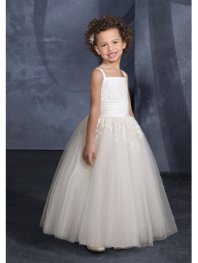 Discount Mori Lee Flower Girl Dresses Style 138