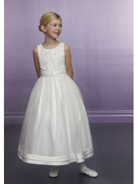 Discount Mori Lee Flower Girl Dresses Style 594