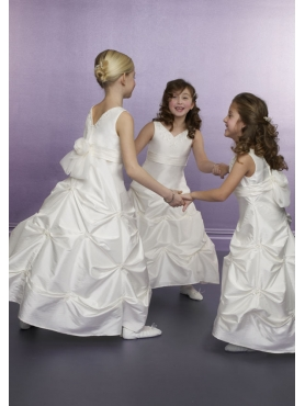 Discount Mori Lee Flower Girl Dresses Style 598