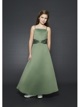 Discount Unique green Fashions Radiant  A line straps  floor length  Pageant Dresses Style 535