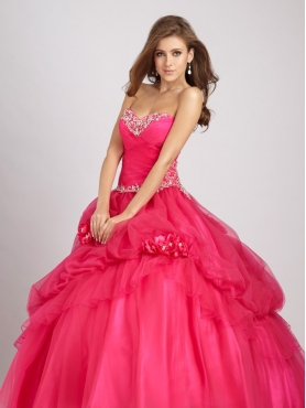 Discount Allure Quinceanera Dresses Style Q327
