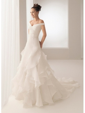 Discount Aire Barcelona Wedding Dress Bobbie  S13CLW02563