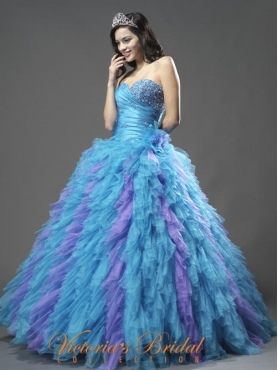 Discount 2012 Luxurious Ball gown Sweetheart Floor-length Quinceanera Dresses Style 921849