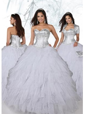 Discount 2012 Remarkable Ball gown Sweetheart Floor-length Quinceanera Dresses Style 80085