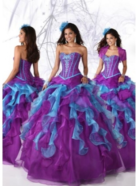 Discount 2012 The brand new style Ball gown Sweetheart Floor-length Quinceanera Dresses Style 80076