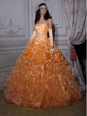 Discount 2012 Brand new ball gown sweetheart-neck floor-length quinceanera dresses 26693
