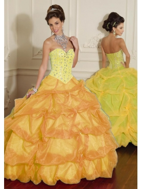 Discount 2012 Cute ball gown sweetheart-neck floor-length quinceanera dresses 8800