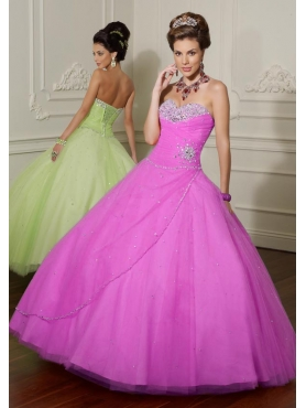 Discount 2012 Elegant ball gwon sweetheart-neck floor-length quinceanera dresses 88016