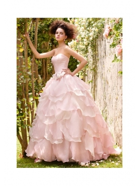 Discount 2012 Exclusive Ball gown Strapless Floor-length Quinceanera Dresses Style SD041
