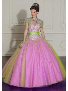 Discount 2012 New style ball gown sweetheart-neck floor-length quinceanera dresses 88002