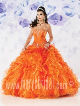 Discount 2012 Wonderful Ball gown Sweetheart Floor-length Quinceanera Dresses Style S12-4118