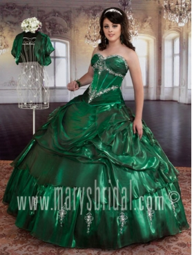 Discount 2012 Amazing Ball gown Sweetheart Floor-length Quinceanera Dresses Style S12-4Q756