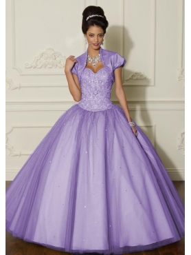 Discount 2012 Beautiful ball gown sweetheart-neck floor-length quinceanera dresses 88005