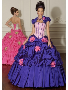 Discount 2012 Cute ball gown sweetheart-neck floor-length quinceanera dresses 88012