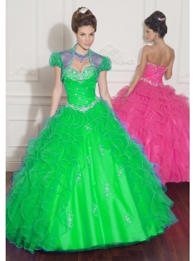 Discount 2012 Fashion trend ball gown sweetheart-neck floor-length quinceanera dresses 88004