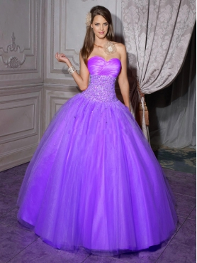 Discount 2012 Lovely ball gown sweetheart-neck floor-length quinceanera dresses 56201