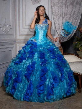 Discount 2012 Luxurious ball gown strapless floor-length quinceanera dresses 26685