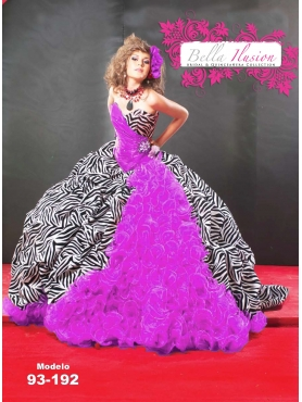 Discount 2012 Modern Ball gown Sweetheart Floor-length Quinceanera Dresses Style AP93-192