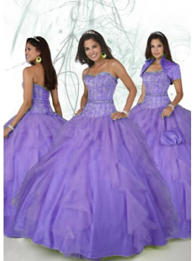 Discount 2012 Pretty Ball gown Sweetheart Floor-length Quinceanera Dresses Style 80089