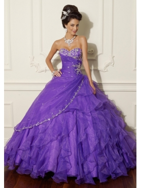 Discount 2012 The super hot ball gown sweetheart-neck floor-length quinceanera dresses 88009