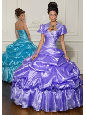 Discount 2012 Wonderful ball gown sweetheart-neck floor-length quinceanera dresses 88003