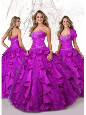 Discount 2012 Amazing Ball gown Sweetheart Floor-length Quinceanera Dresses Style 80091